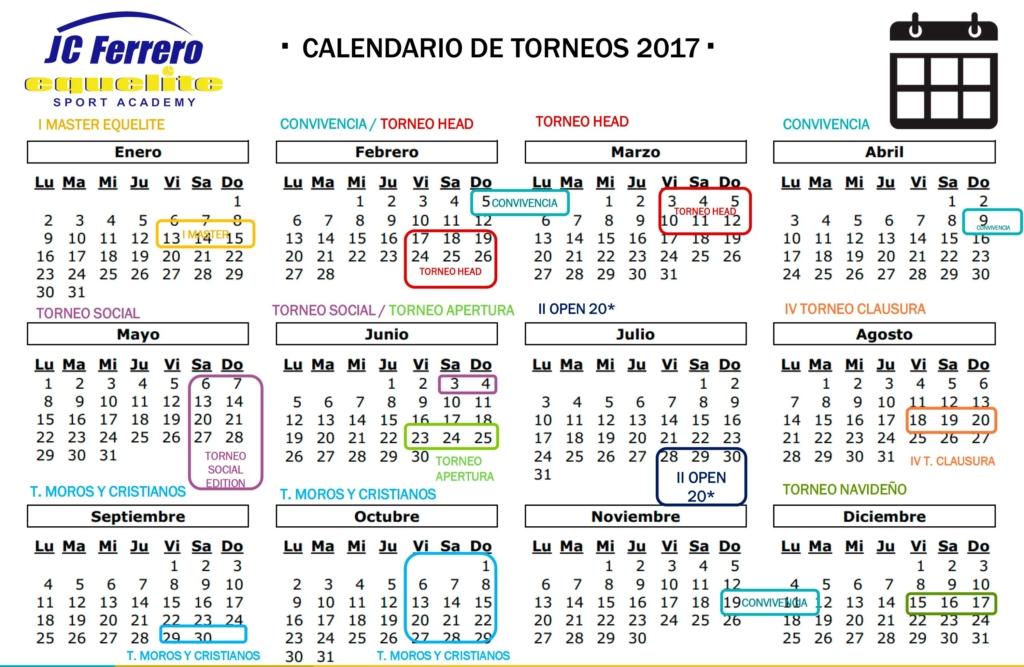 CALENDARIOS-TORNEOS-PADEL-EQUELITE-2017