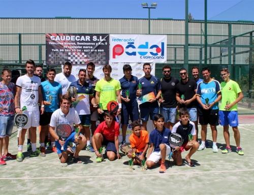 Juan Carlos Ferrero y Juanmi Such se llevan el trofeo del I Open Provincial 20* en JC Ferrero-Equelite.
