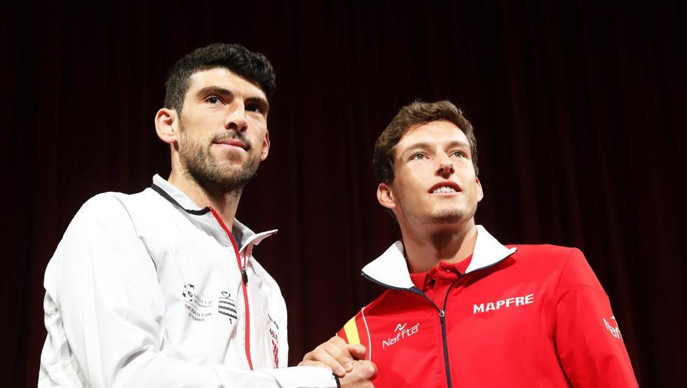 Pablo Carreño abrirá la eliminatoria de Copa Davis ante Croacia