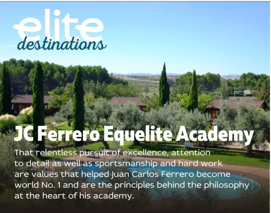 Reportaje especial de Equelite en Elite Tennis