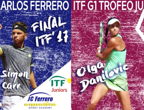 Guerrero y Davidovich alcanzan la final del Trofeo Juan Carlos Ferrero