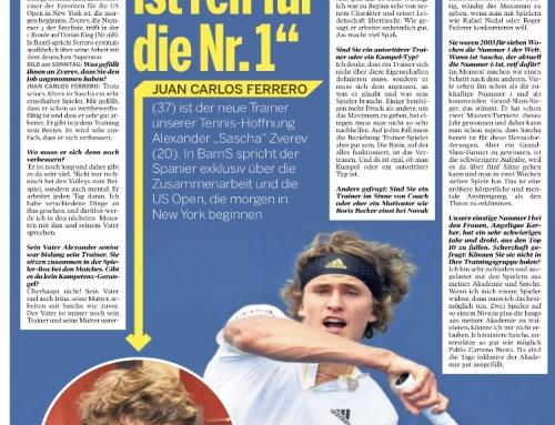 Entrevista a Juan Carlos Ferrero en el medio alemán BILD