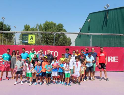Gran acogida en el torneo de tenis perteneciente al Circuito de Aficionados