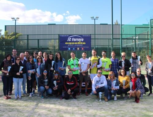 Concluye la V Edición del Torneo Padel PostFiestas Moros y Cristianos