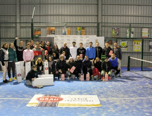 Finaliza el IV Torneo Pádel Navideño