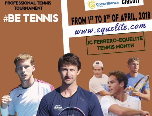 JC Ferrero-Equelite Tennis Academy will hold a Challenger Tournament in 2018