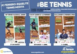 JC Ferrero Equelite Tennis Month