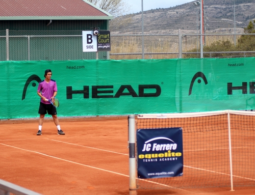 The competition kicks off at the ITF Junior G1 Juan Carlos Ferrero