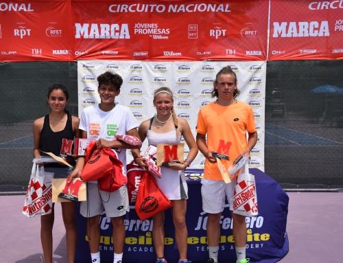 Finaliza el RPT – Marca Jóvenes Promesas by Wilson que pone fin a una gran semana de tenis