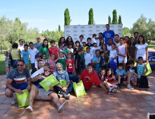Éxito en la acampada de clausura de la Escuela de Tenis