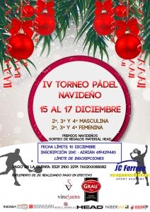 IV Torneo Pádel Navideño
