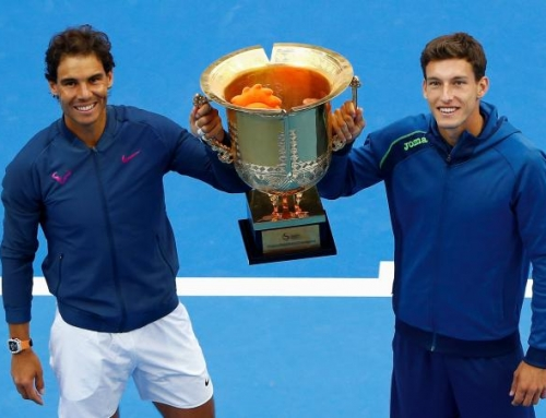 Pablo Carreño campeón en dobles en China Open