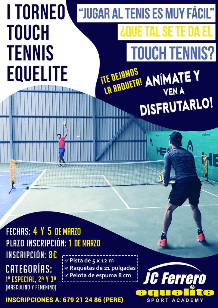 CARTEL TOUCH TENIS WEB