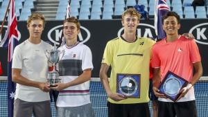 Finalista Dobles Emilio Nava - Australian Open