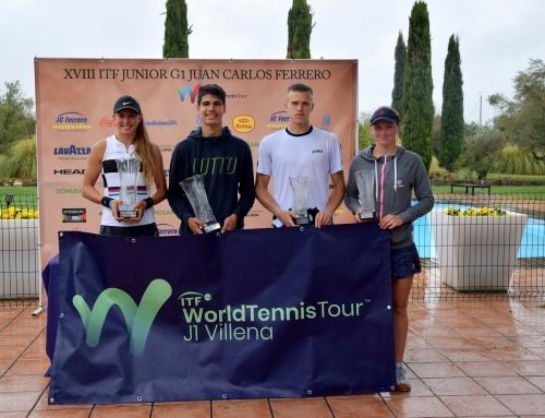 Carlos Alcaraz se hace mayor en el ITF G1 JC Ferrero