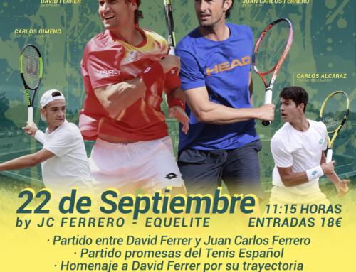Exhibición Juan Carlos Ferrero – David Ferrer