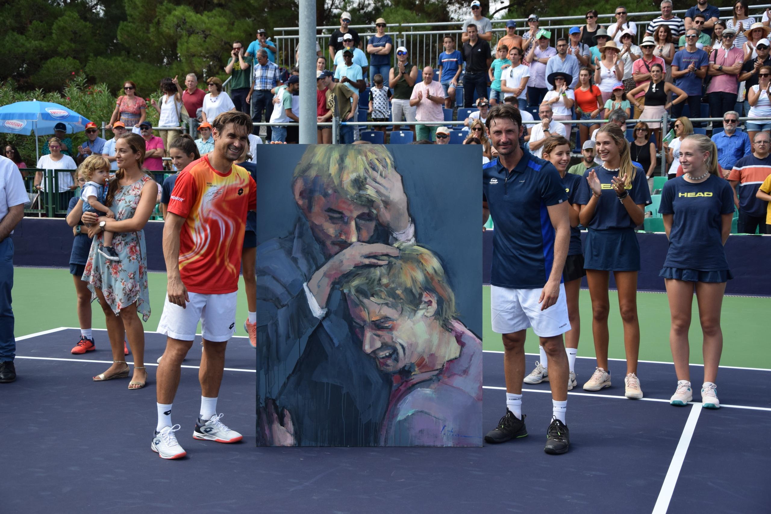 Gran éxito en la fiesta del tenis en Equelite