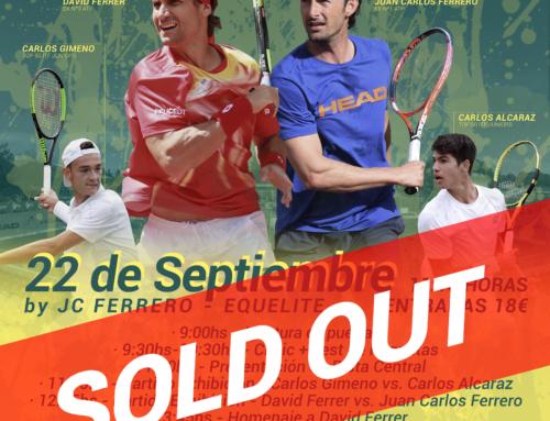 ENTRADAS AGOTADAS – Exhibición Juan Carlos Ferrero – David Ferrer