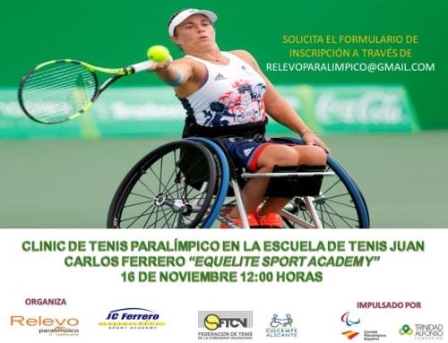 Clinic de Tenis Paralímpico en Equelite
