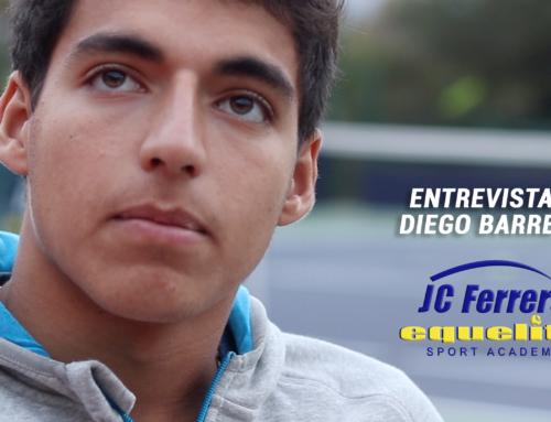 Entrevista a Diego Barreto, jugador de JC Ferrero Equelite